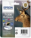 3 Epson Stylus Office BX320FW Original Printer Ink Cartridges - Cyan / Yellow / Magenta- XL High Capacity