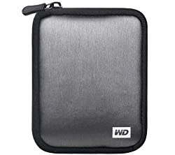 Western Digital Soft Carrying Case for My Passport Portable Hard Drives (Silver)
