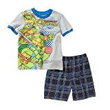 Teenage Mutant Ninja Turtles Tee Shirt and Shorts Outfit Little Boys 4T