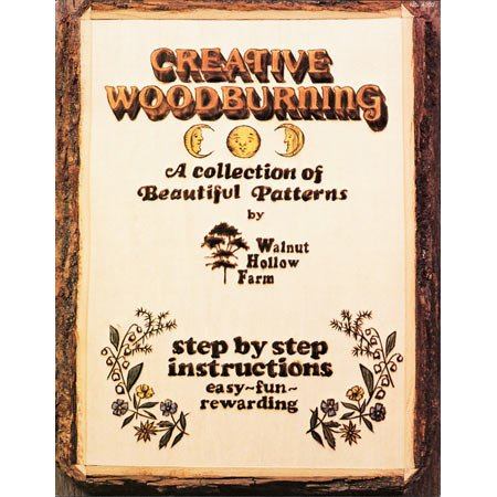 Walnut Hollow Creative Woodburning Book - 1