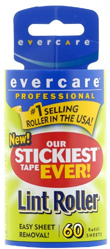 Buy Bargain Evercare Professional Lint Pic-Up Roller, Refill Sheets-60ct