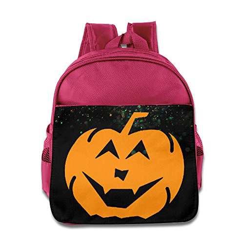Custom Halloween Logo Funny Teenager Shoulders Bag For 1-6 Years Old Pink ()