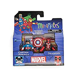 Marvel Minimates Greatest Hits Wave 2 Captain America & Deadpool 2 Pack