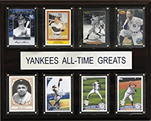 MLB New York Yankees All-Time Greats Plaque by C&I Collectables