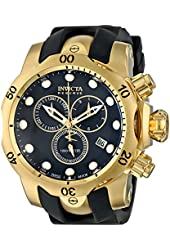Invicta Men's 6112 Reserve Collection Subaqua Venom 18k Gold-Plated Chronograph Watch
