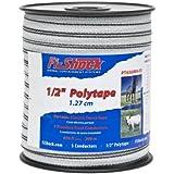 Fi-Shock PT656WH-FS 656-Feet Polytape, 1/2-Inch