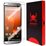 Skinomi® TechSkin - HTC One M8 Screen Protector Premium HD Clear Film / Ultra High Definition Invisible and Anti-Bubble Crystal Shield with Free Lifetime Replacement Warranty - Retail Packaging (For: Verizon, T-Mobile, Sprint, AT&T)
