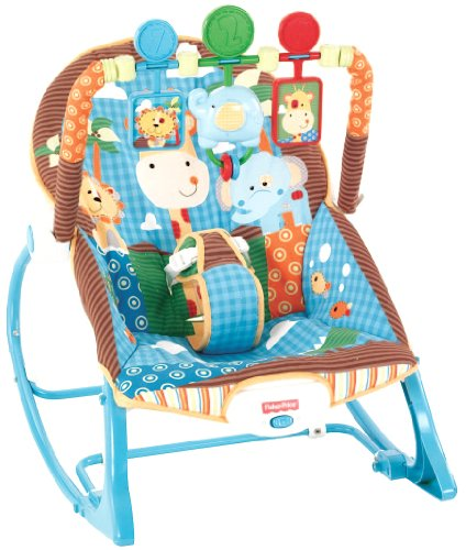 Fisher-Price Infant To Toddler Rocker, Jungle