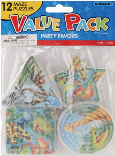 Party Favors 12/Pkg, Rainforest Friends Puzzle