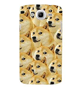 Printvisa Pattern Of A Group Of Dogs Back Case Cover for Samsung Galaxy Mega 5.8 i9150::Samsung Galaxy Mega 5.8 i9152