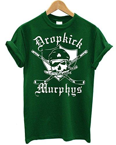 T-shirt Uomo Dropkick Murphys Maglietta 100% cotone LaMAGLIERIA,M, Verde