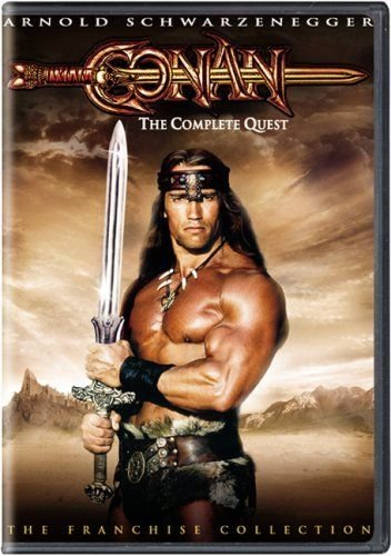 Conan: The Complete Quest Rare Movie Edition Starring-Arnold Schwarzenegger (Conan Complete Quest compare prices)