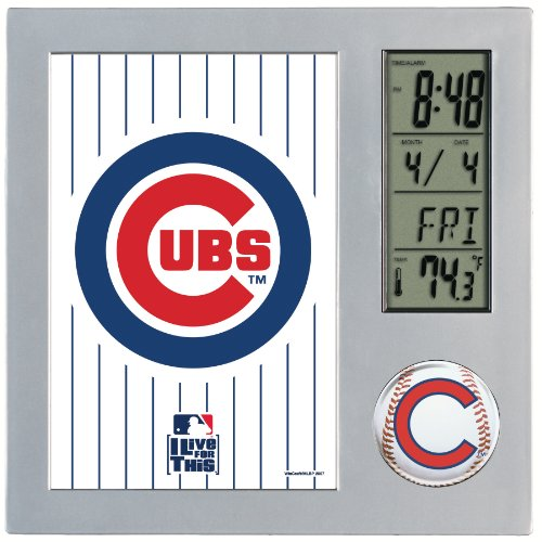 MLB Chicago Cubs Digital Desk Clock at Amazon.com