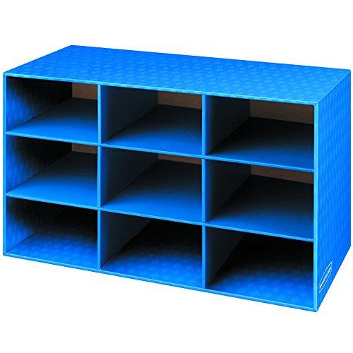 Cardboard shoe storage cubbies 28 images cardboard for Diy shoe storage with cardboard