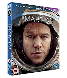 The Martian [Blu-ray+3D + UV Copy] [2015]