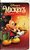Mickeys Once Upon A Christmas (VHS) (Animated, 1999) (First Release With Original Cover Art) [VHS Video] [Clamshell Case]
