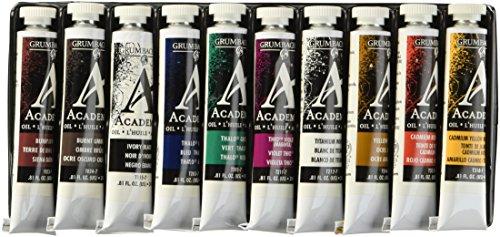 grumbacher-academy-oil-paint-24ml-081-oz-tube-10-color-set
