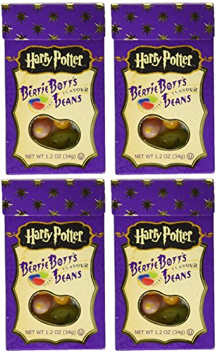 Bertie Bott's Every Flavour Beans Jelly Beans Harry Potter 4 pack (Different Flavored Jelly Beans compare prices)