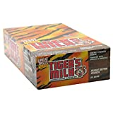 Tiger's Milk Bars, American's Original Nutrition Bar, Peanut Butter Crunch, 24 Bars, 1.23 oz (35 g) Each
