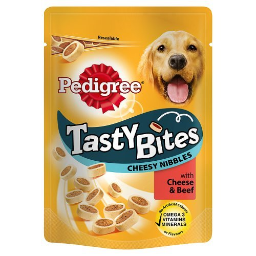 pedigree-tasty-bites-cheesy-nibbles-with-cheese-and-beef-140g