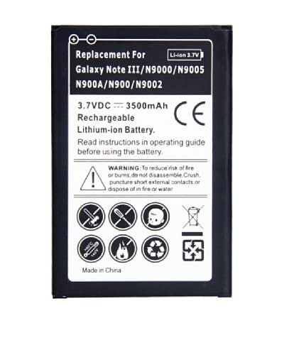 Unotec lithiumbatterij Galaxy Note 3