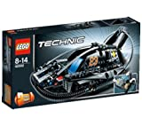 LEGO Technics - Hovercraft - 42002 42002 (Race over land, water, mud and ice in the all-new Hovercraft! No terrain is too hostile for this highly realistic LEGO® Technic model, featuring such authentic details as a cool racing design, spinning rotor bla