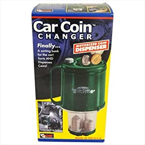 Car Motorized Coin Sorter for your Car or Home (Fits In Cup Holder)