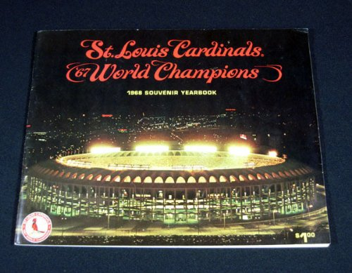 Original 1968 St. Louis Cardinals World Champions Yearbook at Amazon.com