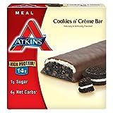 Atkins Meal Bar, Cookies n' Creme, 5 Bars