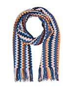 Missoni Bufanda Lana (Azul / Multicolor)