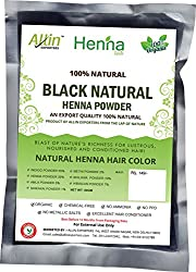 Black Henna Hair Color - 100% Organic and Chemical Free Henna for Hair Color Hair Care - ( 120 Gram = 2 Packet)