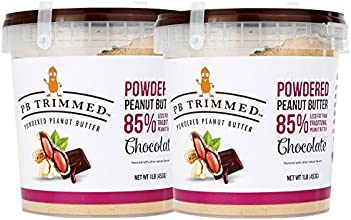 Powdered Peanut Butter 2 pack CHOCOLATE Peanut Butter 16 Oz