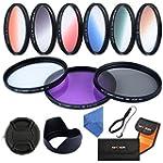 K&F Concept 58mm 9pcs UV CPL FLD Grad...