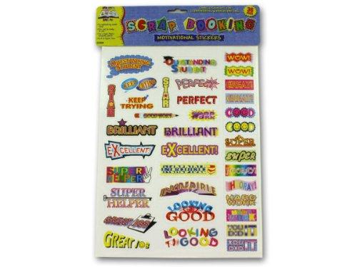 School motivational stickers - Case of 48