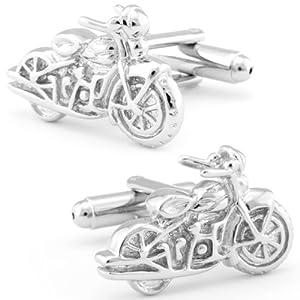 Harley Davidson Motorcycle Cufflinks-CL-0060