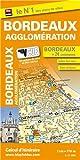 Plan de Bordeaux et de son agglom�ration (avec localisation des stations VCUB)