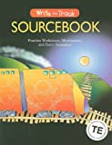 Write on Track Sourcebook: Practice Workshops, Minilessons, and Daily Sentences (Write Source 2000 Revision)