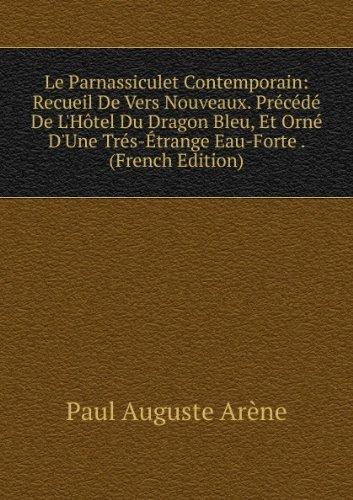 le-parnassiculet-contemporain-recueil-de-vers-nouveaux-praccacdac-de-lhaztel-du-dragon-bleu-et-ornac