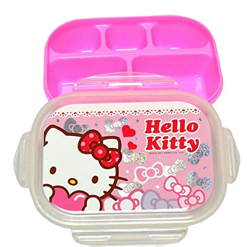 Hello Kitty Lunch Box W. 5 Compartments - 1