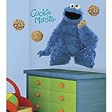 RoomMates RMK1483GM Sesame Street Cookie Monster Giant Peel & Stick Wall Decal