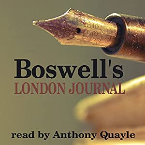 Boswell's London Journal Hörbuch