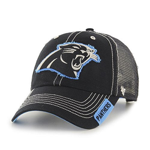 NFL Carolina Panthers '47 Turner Clean Up Mesh Adjustable Hat, One Size Fits Most