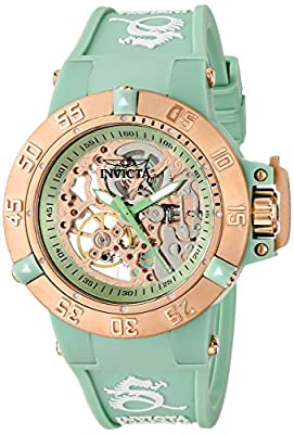 Invicta Women's 16797 Subaqua Analog Display Mechanical Hand Wind Green Watch