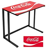 LumiSource Coca-Cola Office Desk, Black