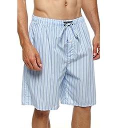 Polo Ralph Lauren Woven Cotton Sleep Shorts (P739) S/Bari Stripe