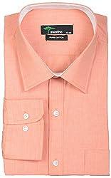 SWATHE Men's Formal Shirt (5985-4-38, Orange)