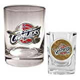 NBA Cleveland Cavaliers Rocks Glass & Square Shot Glass Set - Primary Logo Amazon.com