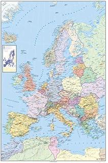 Kümmerly & Frey Poster, Europa, physisch Kümmerly+Frey Welt- und ...