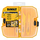 Home Improvement - DEWALT DW4890 15-Piece Reciprocating Saw Blade Tough Case Set