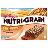 Kellogg's Ginger Nutri-Grain Elevenses Bars Ginger 4x6x45g